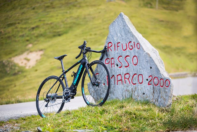 Bianchi's New Impulso eBike Range for Road and Gravel